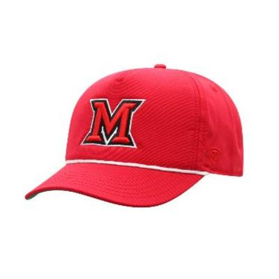 Miami Top of the World M Logo Adjustable Hat