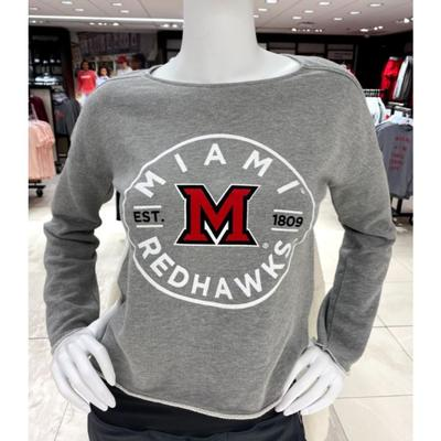 Miami Garb Youth Miami Red Hawks Logo Fleece