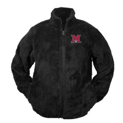 Miami Garb Youth M Logo Sherpa Jacket