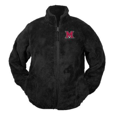 Miami Garb Infant M Logo Sherpa Jacket