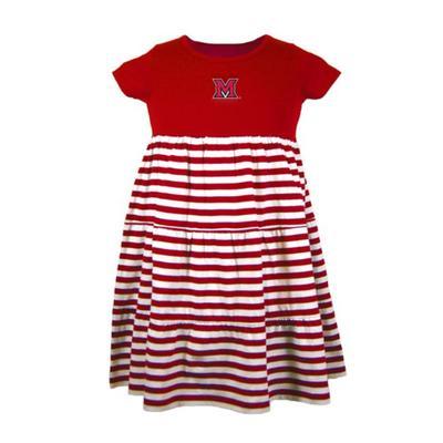 Miami Garb Toddler M Logo Dress