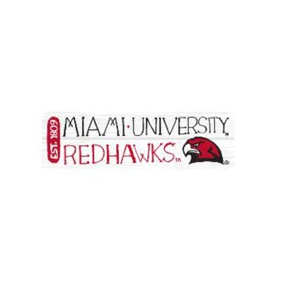 Miami Red Hawks Julia Gash Magnet