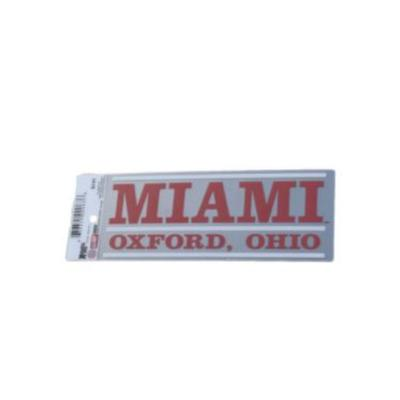 Miami Oxford Ohio Decal