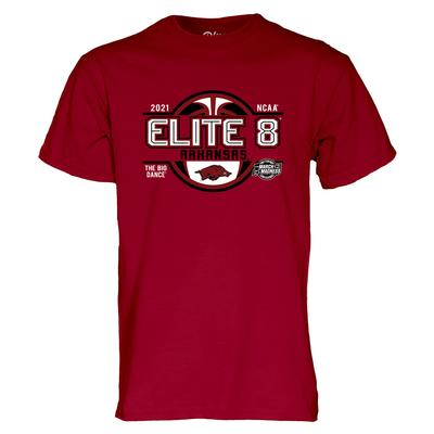 Arkansas Razorbacks Elite 8 Short Sleeve Tee
