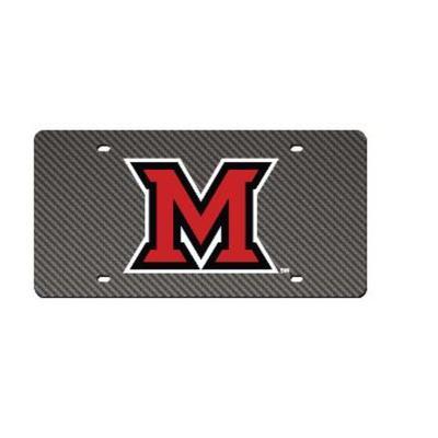 Miami M Logo License Plate