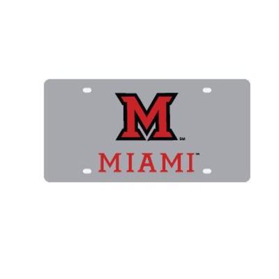 Miami M Miami Logo License Plate