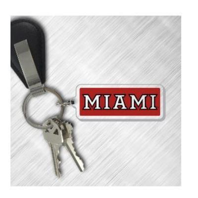 Miami Logo Key Chain