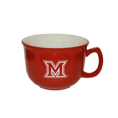 Miami M Logo Soup Mug