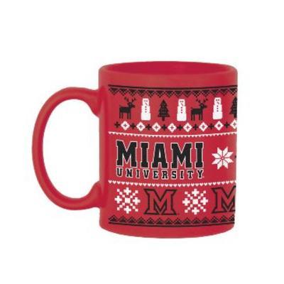 Miami Ugly Christmas Sweater Mug
