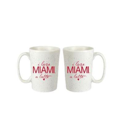 Miami I Love Miami A Latte Mug