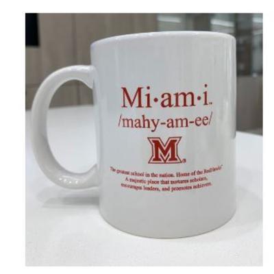 Miami Dictionary Mug