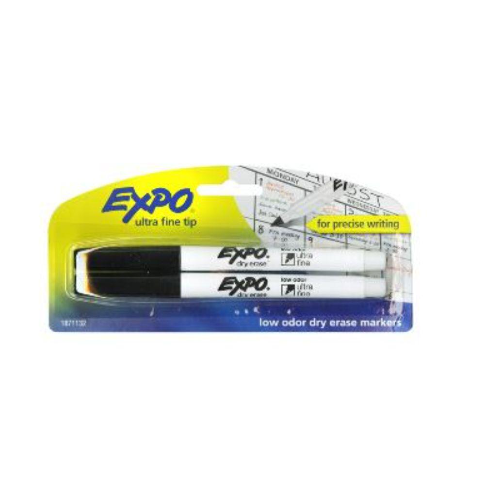 Expo Low Odor Fine 2- Pack Dry Erase Markers