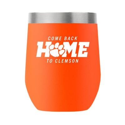 Clemson GTL Come Back Home 12 Oz Stemless Tumbler