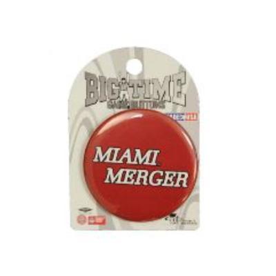 Miami Merger Button