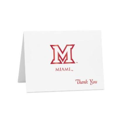 Miami Thank You Notecard