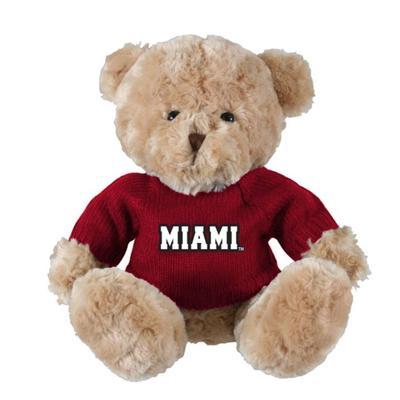 Miami Elliot Bear with Red Miami Sweater