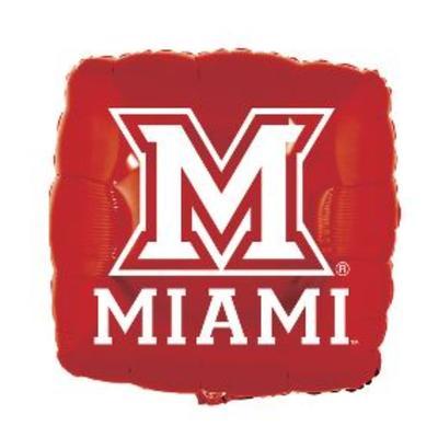 Miami M Logo Balloon