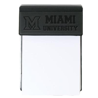Miami M Logo Paper/Holder