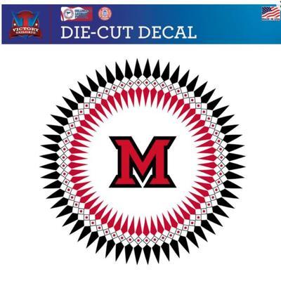 Miami M Heritage Logo Decal