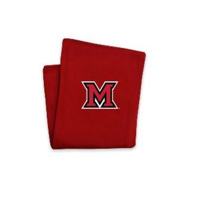 Miami M Logo Blanket