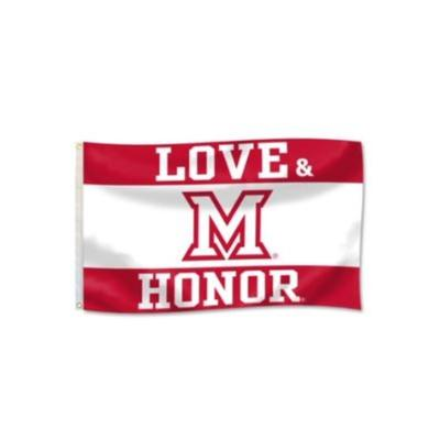 Miami Love and Honor House Flag