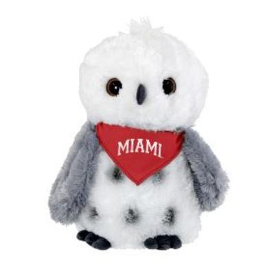Miami Owl with Red Miami Bandanna
