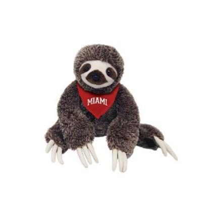Miami Sloth with Red Miami Bandanna