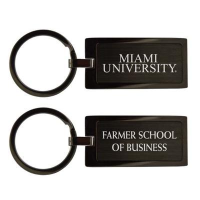 Miami Farmer School of Business Key Chain