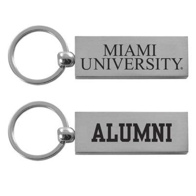 Miami Alumni Key Chain