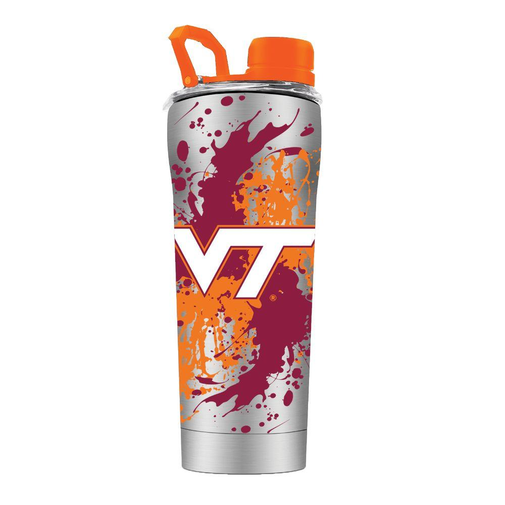 Virginia Tech Gtl 24 Oz Splatter Shaker