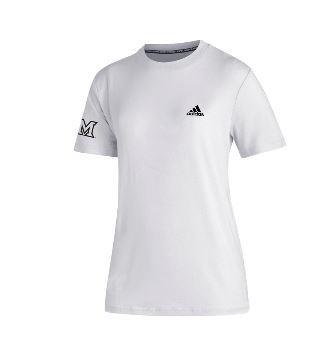 Miami Adidas M Logo Tee