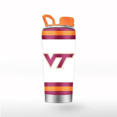Virginia Tech GTL 24 oz Striped Shaker