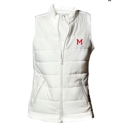Miami Ivy Citizens M Logo Puffer Vest
