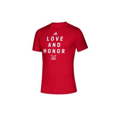 Miami Adidas Love and Honor Tee