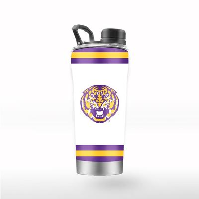 LSU GTL 24 oz Striped Shaker
