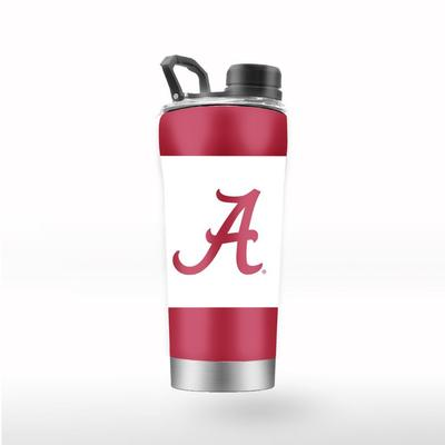 Alabama GTL 24 oz Striped Shaker