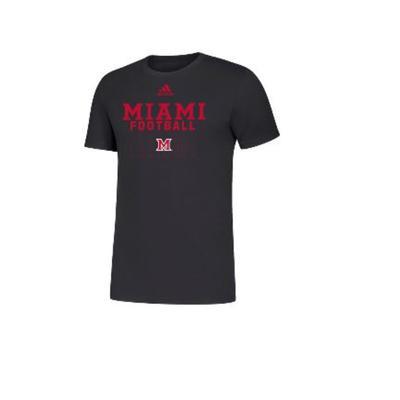 Miami Adidas Football Tee