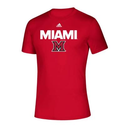 Miami Adidas Miami over M Tee