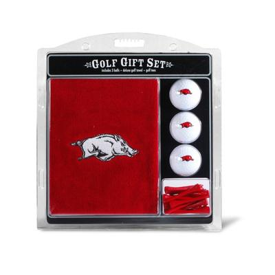 Arkansas Razorbacks Golf Gift Set
