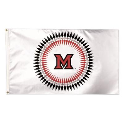 Miami Myaamia Ribbonwork Flag