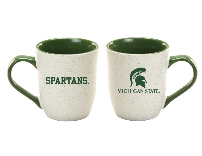 Michigan State 16 Oz Granite Mug