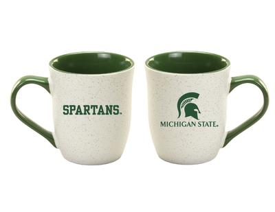 Michigan State 16 oz Granite Mug