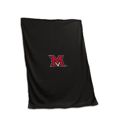 Miami Logo Brands Sweatshirt Blanket