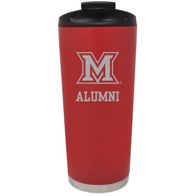 Miami Alumni Auto Travel Mug