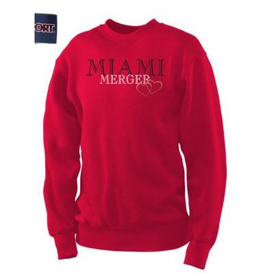 Miami Merger Crewneck Sweatshirt