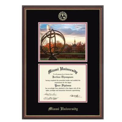 Miami Double Scene Diploma Frame