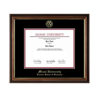 Miami Farmer School of Business Diploma Frame