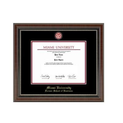 Miami Masterpiece Farmer School of Business Diploma Frame