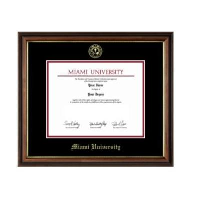Miami Regency Gold Diploma Frame