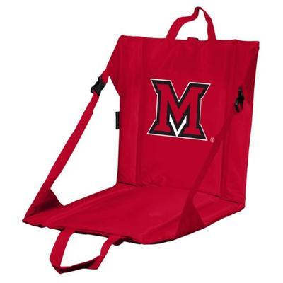 Miami Logo Brands M Logo Stadium Seat